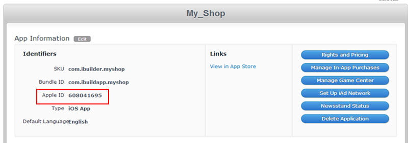 eCommerce  - Apple mobile app