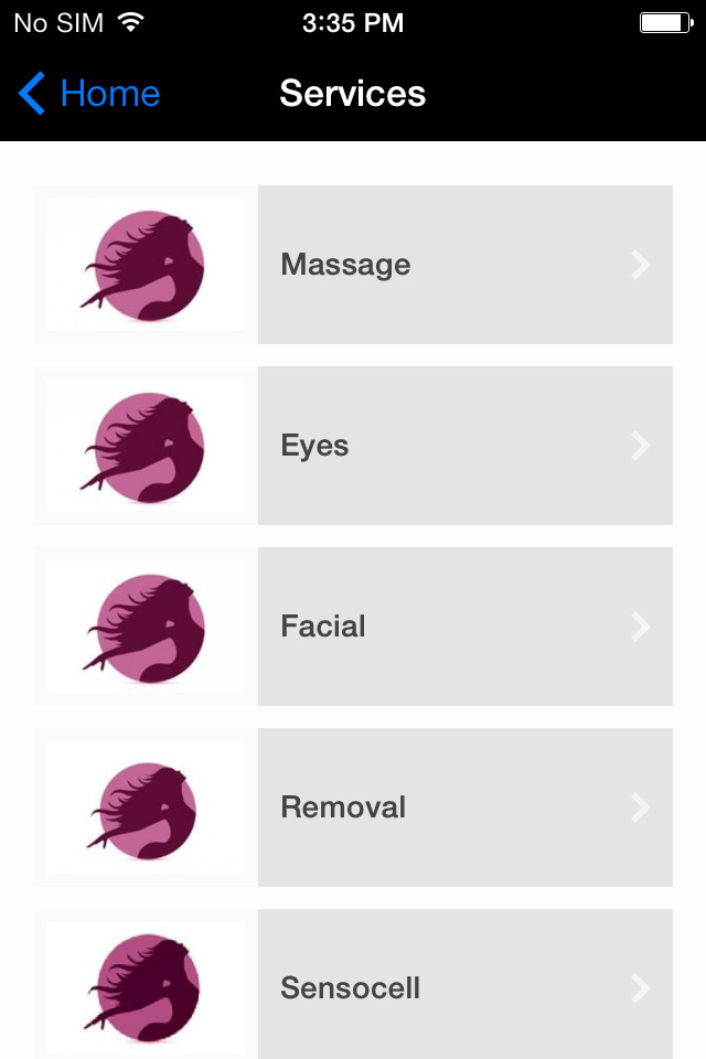 Beauty Salon Mobile App