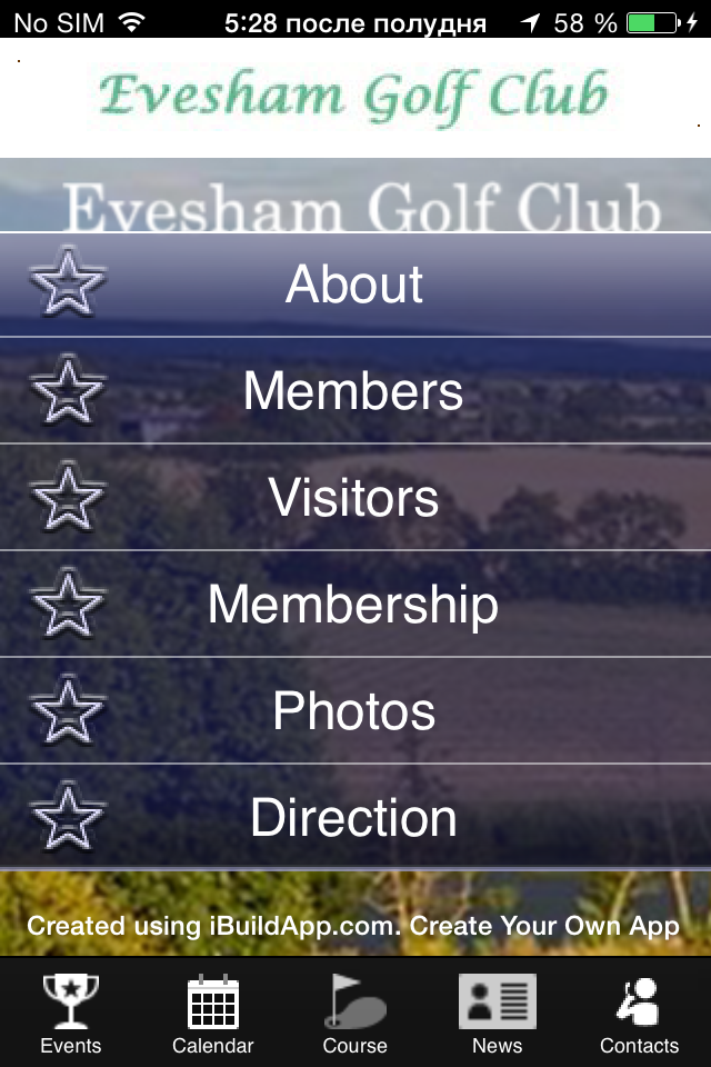 Golf Course Mobile Apps