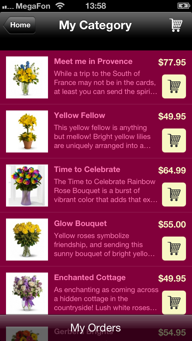 Flower Shops Apps