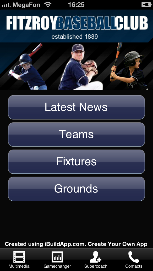 Baseball Team Mobile Apps