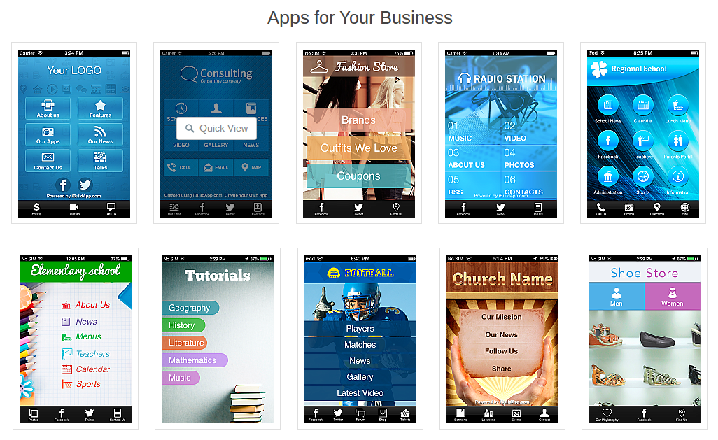 Make your free app with ibuildapp similar to ibuildapp wix website software maxwellsz