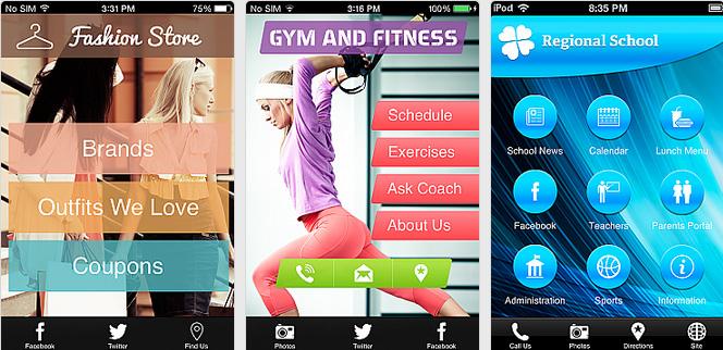 Mobile App Navigation