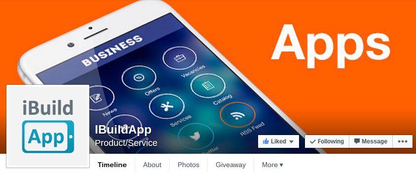 Mobile App facebook