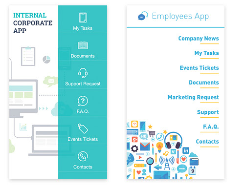 New Internal Corporate Apps to Organize Your Company - iBuildApp