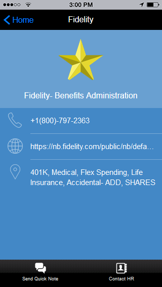 benefit administration