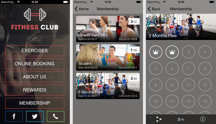 Fitness Club Solution