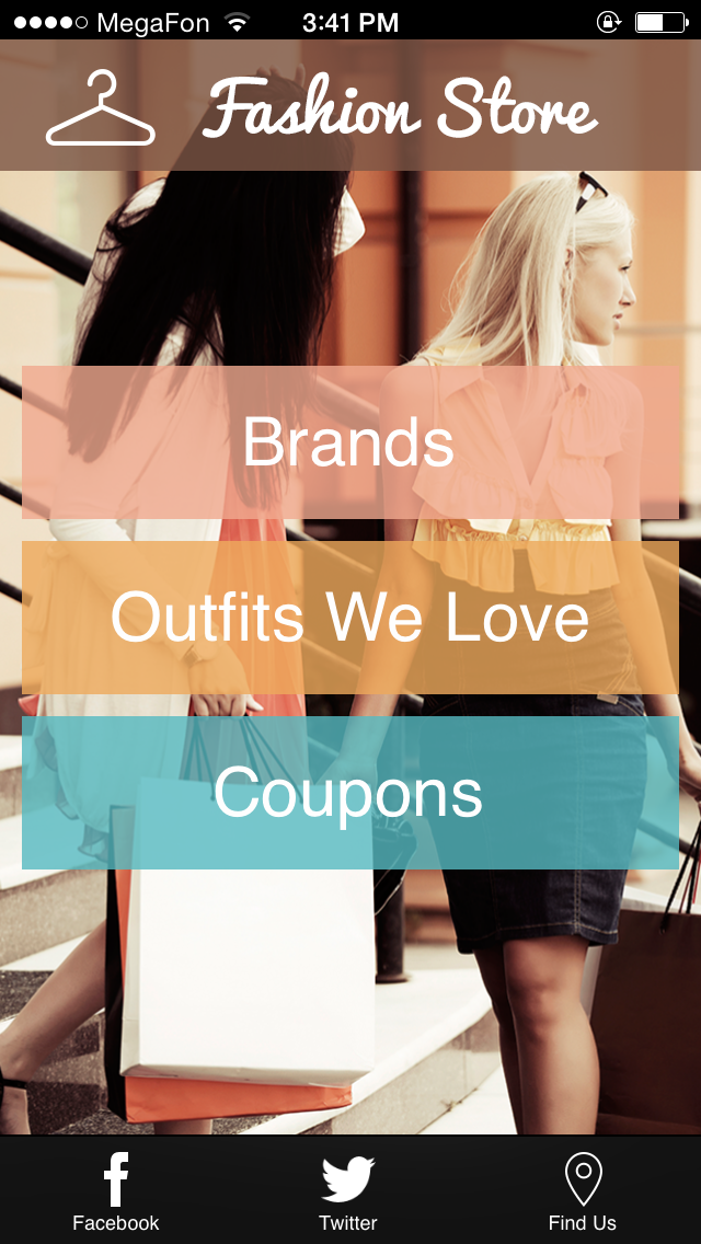 Clothing Store Mobile App Designs