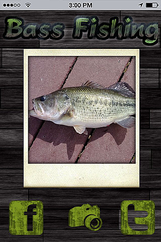 Bass Fishing App Templates