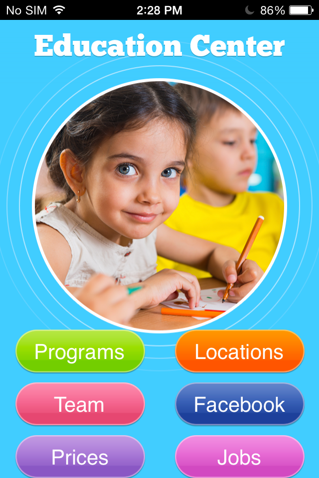 Education Center App Templates