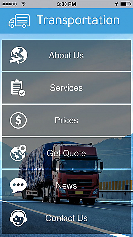 use transportation to make your free mobile app