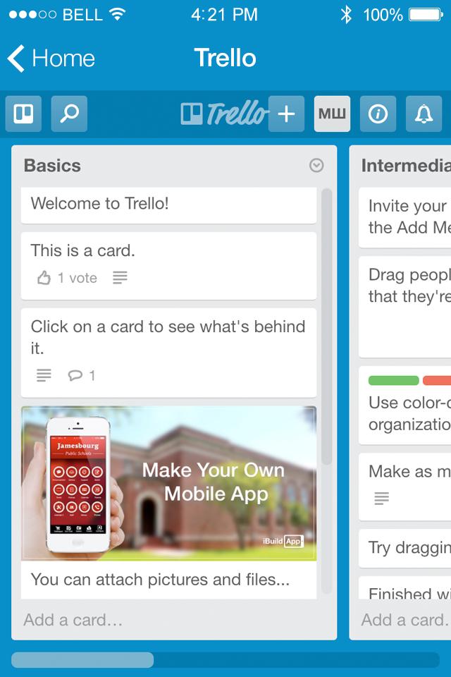 trello mobile app android
