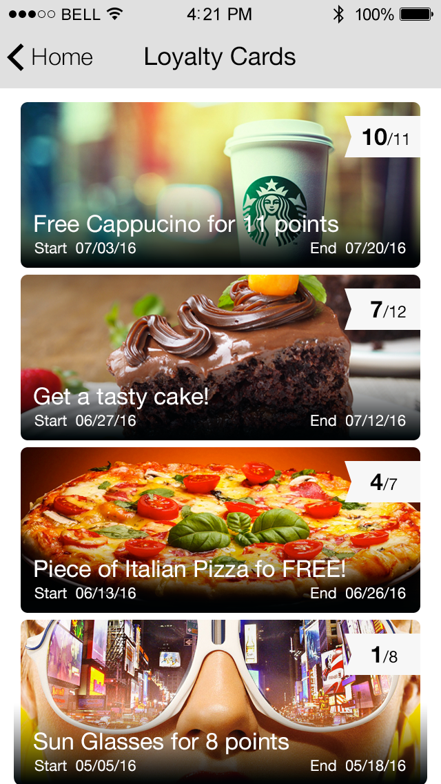 Loyalty Cards App App Features
