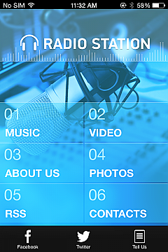 Solution 32536 - RadioStation App