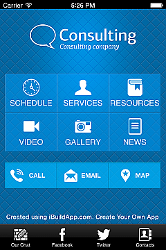 Solution 35322 - Consulting App