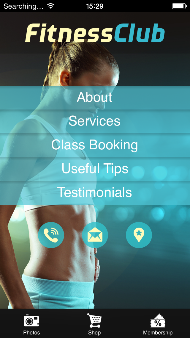 create your fitness yoga or gym app apps for spa or beauty salons