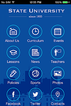 Solution 39566 - State University 2 App