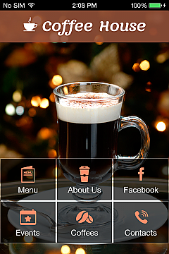 Solution 39858 - Coffee House App