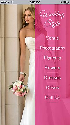 Weddings App Templates Android Iphone Ipad