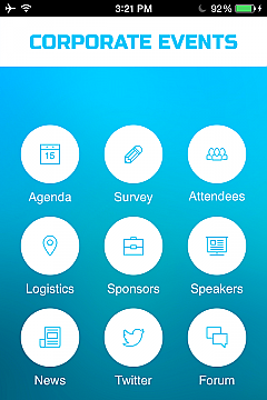 Corporate Events 2 Apps