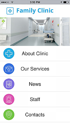 Family Clinic App Templates