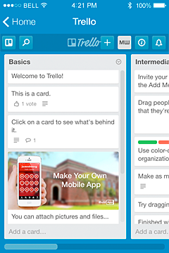 Trello App Features