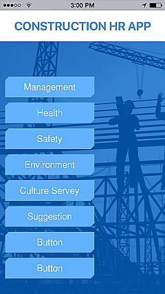 Construction HR APP App Templates
