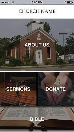 Church Template 2 App Templates