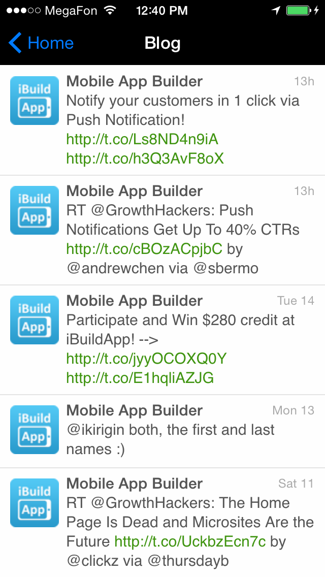 Automate Your Mobile App