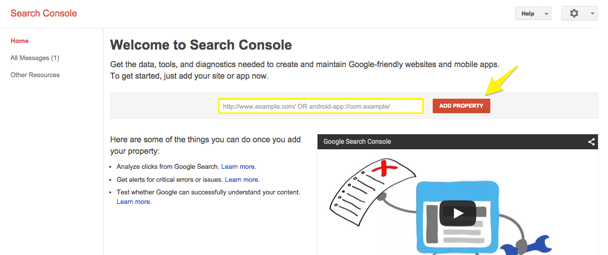 USE GOOGLE WEBMASTER TOOLS AND MAKE A MOBILE APP FROM YOUR SITE