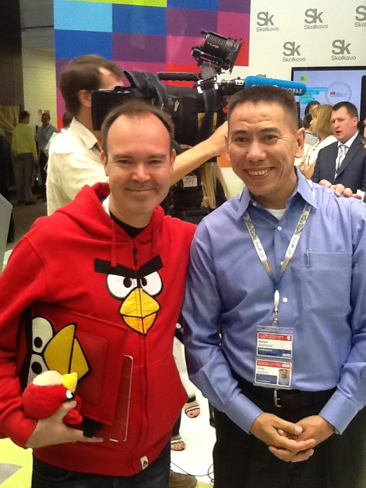 Creator of Angry Birds