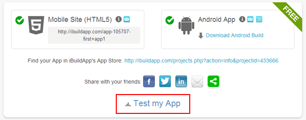 iBuildApp - Create Android and iPhone App, Free, No Coding
