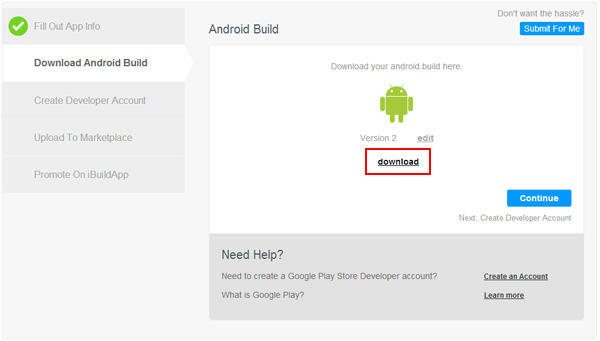 How do I publish my Android app on Google Play Store