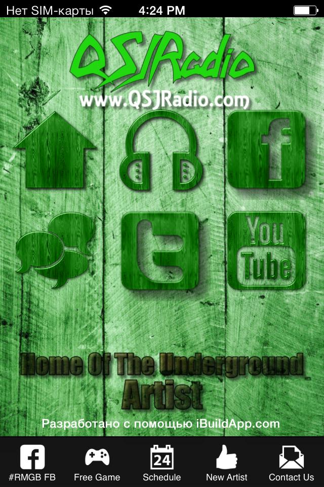 las estaciones de radio una aplicación móvil