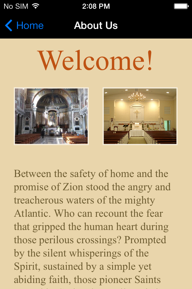 Iglesias y Organizaciones Religiosas Aplicaciones Moviles