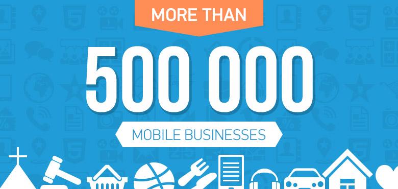 Celebrating 500,000 Mobile App Creators