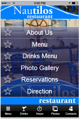 Crear aplicaciones para restaurantes