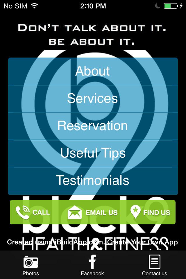Aplicaciones móviles para Gimnasio