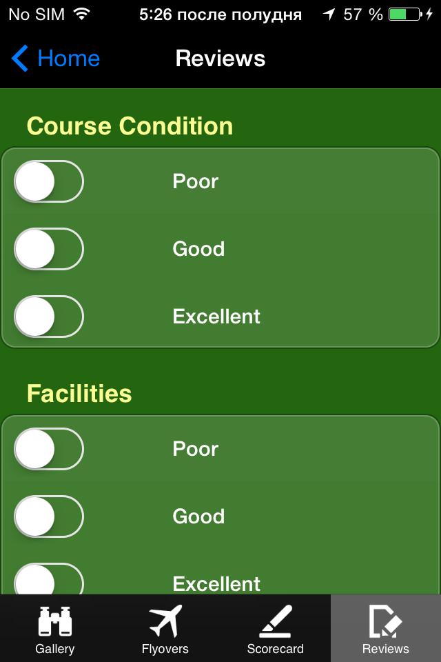 Aplicaciones Moviles del Golf
