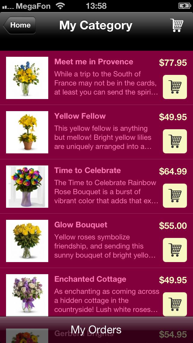 Florerías con Aplicaciones