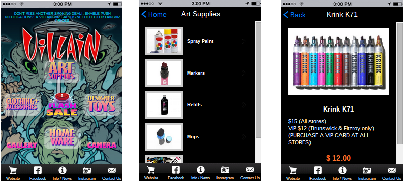 CREATE MOBILE COMMERCE APPS WITH ONLINE STORE BUILDER