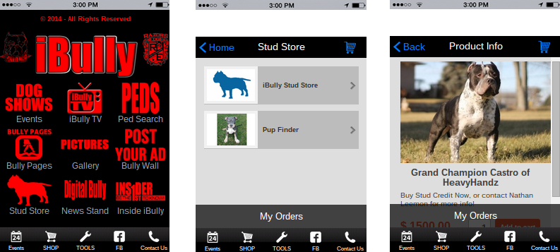 CREATE MOBILE COMMERCE APPS WITH ONLINE STORE BUILDER    - iBuildApp
