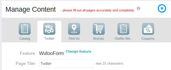 HTML form builder