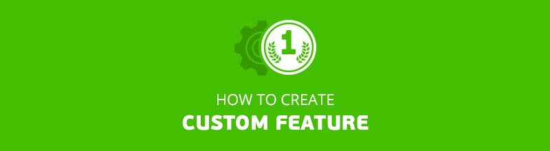 How to Create Custom Feature
