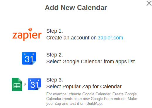 Google Calendar Zapier Feature