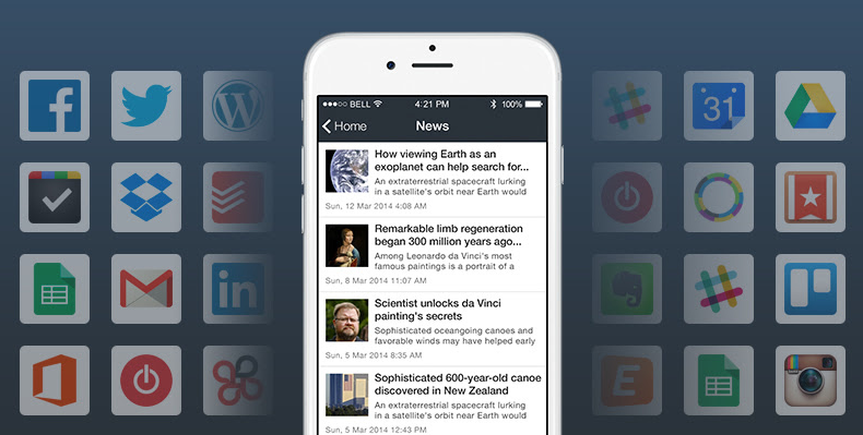 zapier news rss