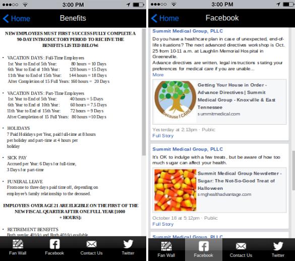 iBuildApp for Human Resources