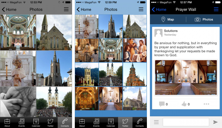 religious on mobile